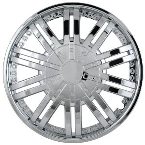 "1993-1997 Mazda 626 Pilot 10 Spoke Venti 14"" Wheel Cover (Chrome)"