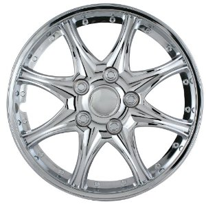 "1993-1997 Mazda 626 Pilot 8 Star 14"" Wheel Cover (Chrome)"