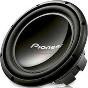 "All Cars (Universal) Pioneer 12"" Single 4 Ohm Champion Series Subwoofer"