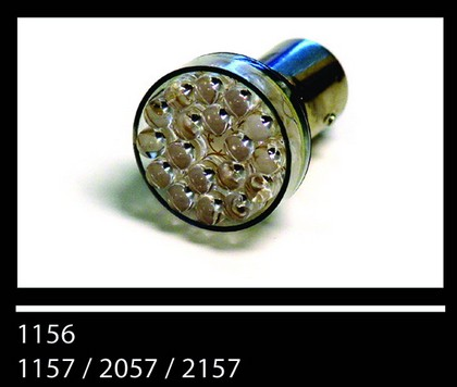 96-97 Lexus LX450 Plasmaglow 1156 GLASS Bulbs - BLUE (2-PACK)