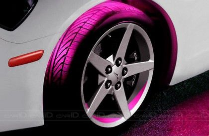 2007-9999 Audi RS4 Plasmaglow Flexible LED Wheel Well Kit - PINK