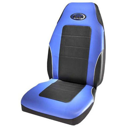 Auto Racing Seat Covers on 006552r02 Plasticolor  Seat Covers   R Racing Stage Iii  Blue Vinyl