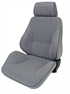 2002-2004 Volvo S40 Procar Racing Seat - Rally Series 1000, Grey Velour (Left)