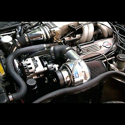 1985-1991 Corvette C4 TPI (L98) ProCharger High Output Intercooled Supercharger System with Polished P600B
