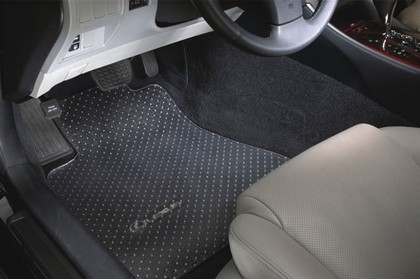 ?01-?03 CL Series 2 dr Protect-A-Mat Custom Floormats - 2-Piece Rear