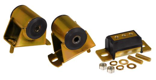 Prothane 1-1906 Red Motor and Transmission Mount Kit for YJ