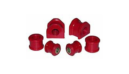 94-01 Dodge Ram 1500 / Ram 2500 / Ram 3500 2/4WD Prothane Sway Bar Bushings - Front (Red)