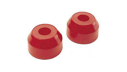 84-00 Honda Civic Prothane Tie Rod  Boots - Red