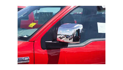 04-08 Ford F150 Light Duty XL / STX (except Heritage) Putco Mirrors - Door Mirror Covers (Chrome Trim)