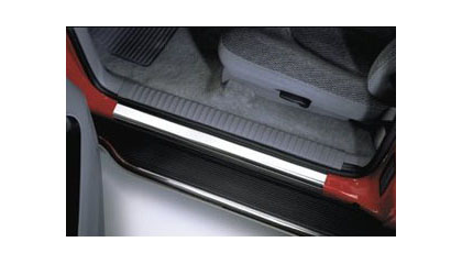 04-Up GMC Canyon Putco Door Sills - Stainless Steel (2-1/4 x 27)