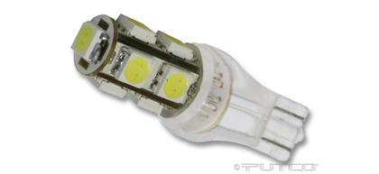 08 Dodge Magnum Putco Colored Bulbs - 921 Wedge LED 360� Premium Replacement (Red)