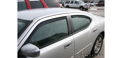 05-08 Dodge Charger Putco Side Window Deflectors - Element Tinted (4 PC)