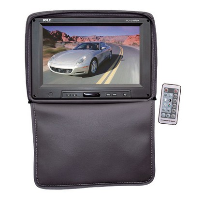 "2000-2005 Lexus Is Pyle Adjustable Headrests w/ Built-In 11"" TFT/LCD Monitor W/IR Transmitter & Cover (Black)"