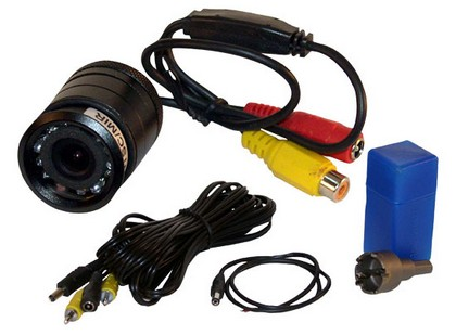 1978-1990 Plymouth Horizon Pyle Flush Mount Rear View Camera w/ 0 Lux Night Vision