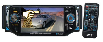 "1998-2005 Mercedes M-class Pyle 4.3"" TFT Touch Screen DVD/VCD/CD/MP3/CD-R/USB/ AM/FM/Bluetooth and Screen Dial Pad"