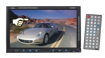 "1998-2005 Mercedes M-class Pyle 8"" Single DIN TFT Touch Screen DVD/VCD/CD/MP3/MP4/CD-R/USB/SD/AM/FM/RDS Receiver"