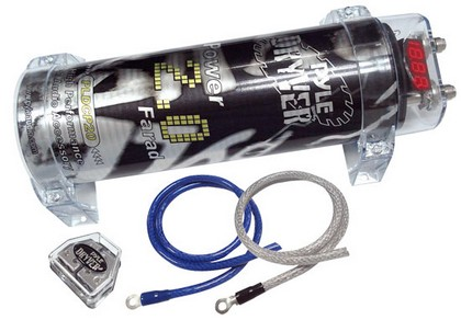 1982-1992 Pontiac Firebird Pyle 2.0 Farad Digital Power Capacitor Kit
