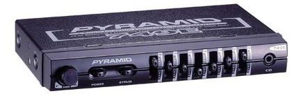 1978-1987 Oldsmobile Cutlass Pyramid 7 Band Graphic Equalizer