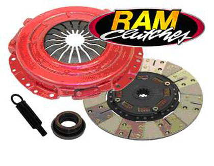 "65-68 SATELLITE � 273 W/ 10.5"" CLUTCH Ram Clutches Premium Powergrip HD Clutch Kit"