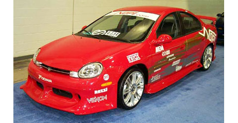 00-01 Dodge Neon 4DR (Except SRT-4) Razzi Body Kit - FULL KIT (ABS Plastic)
