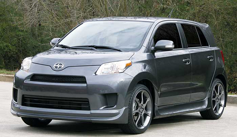 08 Scion xD Razzi Body Kit - FULL KIT (ABS Plastic)