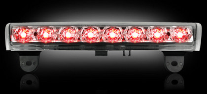 Chevy & GMC Tahoe, Yukon, Suburban, Denali 00-06 Recon LED 3rd Brake Light - Clear Lens (Does Not Fit SUVs w Barn Doors)