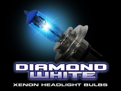 92-94 Acura Vigor Recon H3 12V 55W (4,600 Kelvin) Headlight Bulbs In Diamond White