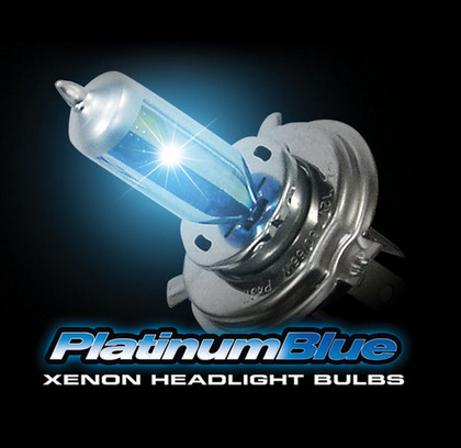 93 Cadillac Sixty Special Recon 9006 12V 55W (5,600 Kelvin) Headlight Bulbs In Platinum Blue
