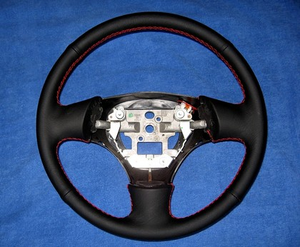 99-03 Mazda Protege Redline Accessories Steering Wheel Cover