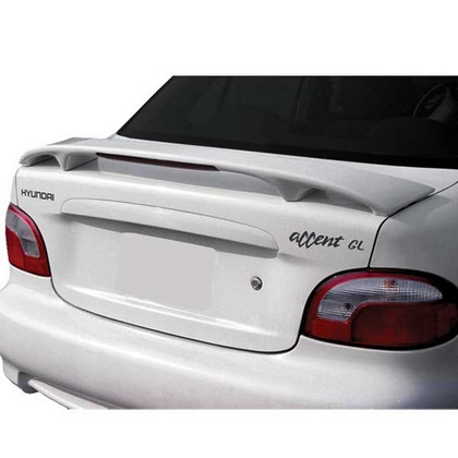 00-02 Hyundai Accent 2D Restyling Ideas Spoiler - Factory Style W/ Led