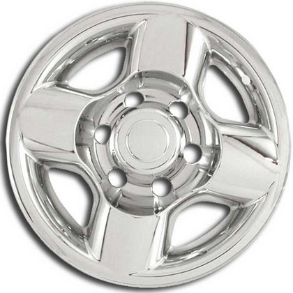 00-02 Nissan Frontier Restyling Ideas Chrome Wheel Shell - 16""