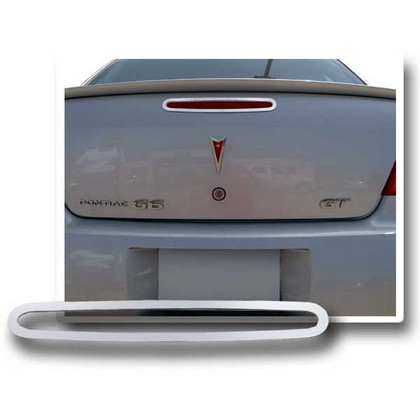 05-08 Pontiac G6 4D Restyling Ideas 3rd Brake Lamp Trim/Bezel - Stainless Steel
