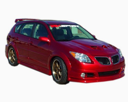 05-Up Pontiac Vibe RK Sports Ground Effects Body Kit - Full Kit (Urethane)