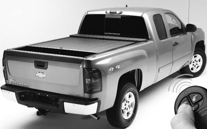 01-03 Chevrolet S-10 Crew Cab XSB Roll�N�Lock Retractable Tonneau Covers - Electric