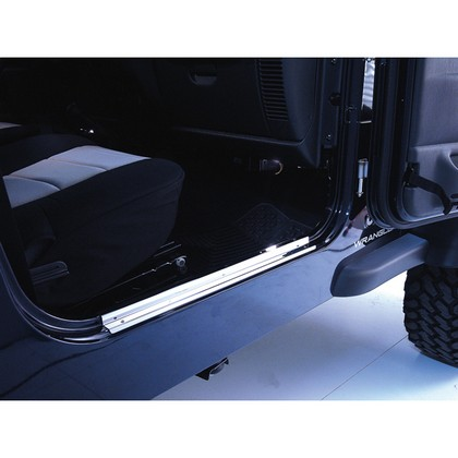 97-06 Jeep Wrangler Rugged Ridge Entry Guards (Stainless Steel)