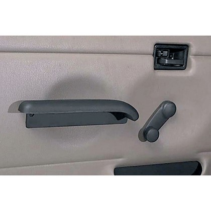 97-06 Jeep Wrangler (Full Hard Doors) Rugged Ridge Hard Door Arm Rests