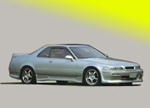 91-95 Acura Legend 2DR Sarona Body Kit - Full Kit