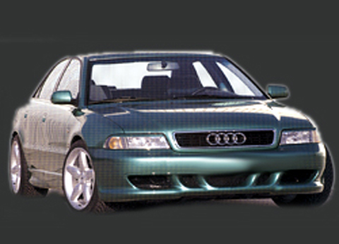 2000-2001 Audi A4 Sarona Body Kit - Rear Bumper