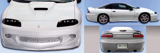 93-97 Camaro 2DR Sarona Body Kit - Full Kit
