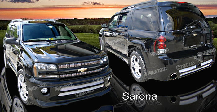 02-07 Trailblazer 4DR Sarona Body Kit - Full Kit