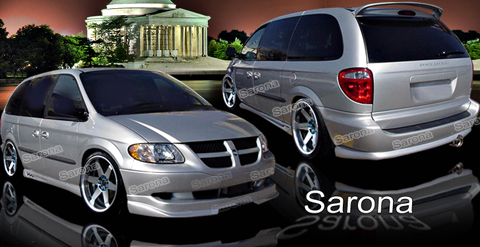 01-06 Caravan Shorty Body Sarona Body Kit - Full Kit