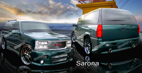 92-99 Yukon 2DR Sarona Body Kit - Full Kit