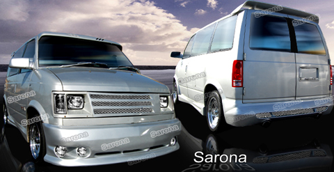 84-94 Safari Mini Van Sarona Body Kit - Full Kit