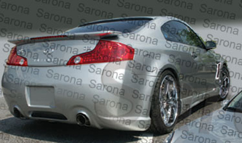 Sarona Body Sarona Body Kit Rear Bumper