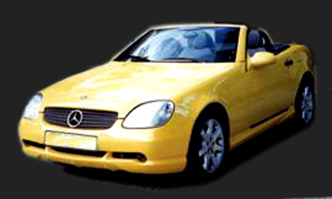 97-01 Mercedes SLK 2DR Sarona Body Kit - Full Kit