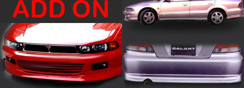 99-03 Mitsubishi Galant 4DR Sarona Body Kit - Full Kit