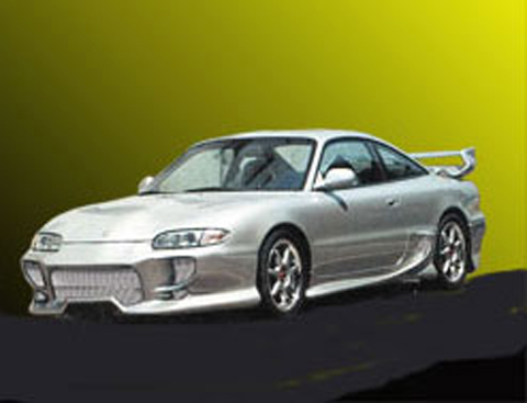 93-97 Mazda MX-6 2DR Sarona Body Kit - Full Kit