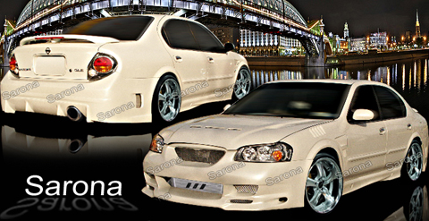 Sarona Body Sarona Body Kit Front Bumper