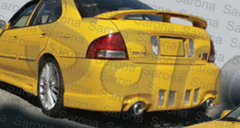 2000-2003 Nissan Sentra Sarona Body Kit - Rear Bumper