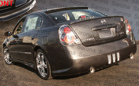 nissan altima 2006 body kit. Sarona Body Kit - Rear Bumper